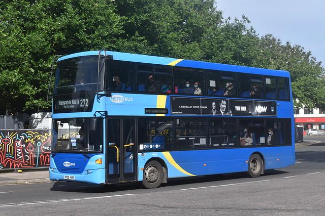 6973 YP09 HWE Metrobus