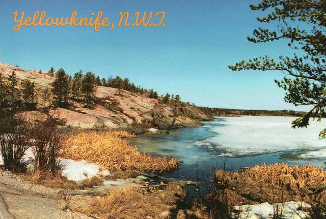 Canada - Northwest Territories - Yellowknife (Spring at Frame Lake)