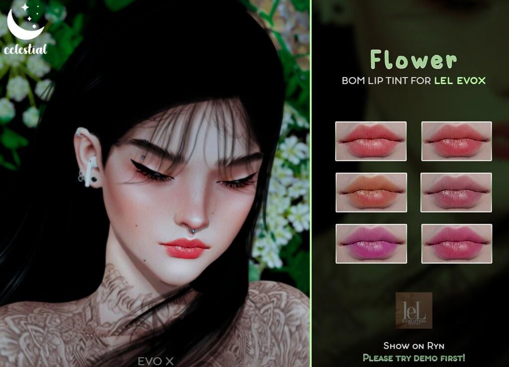 CELESTIAL: FLOWER LIP TINT