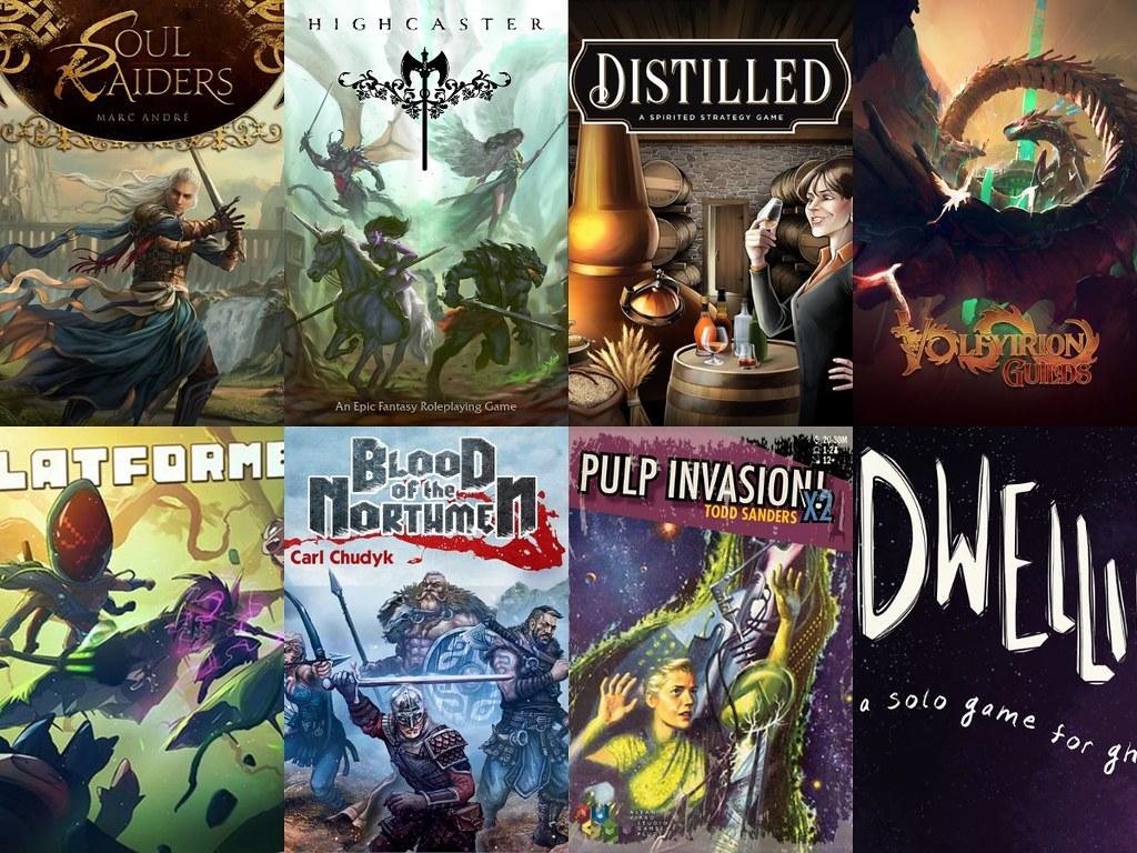 Noticias - Kickstarter & Gamefound 5/07 - 11/07