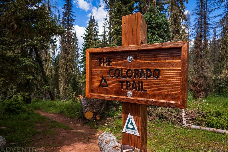 The Colorado Trail Sign