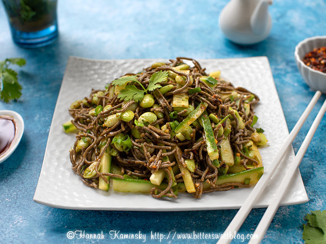 Spicy Cold Soba Noodles 2