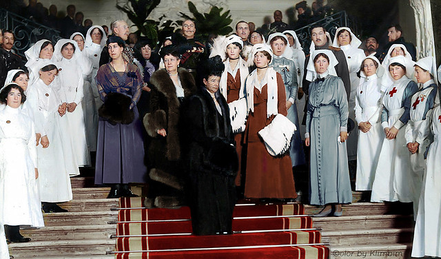 Consecration of the Anglo-Russian Hospital, Petrograd, 19th January 1916