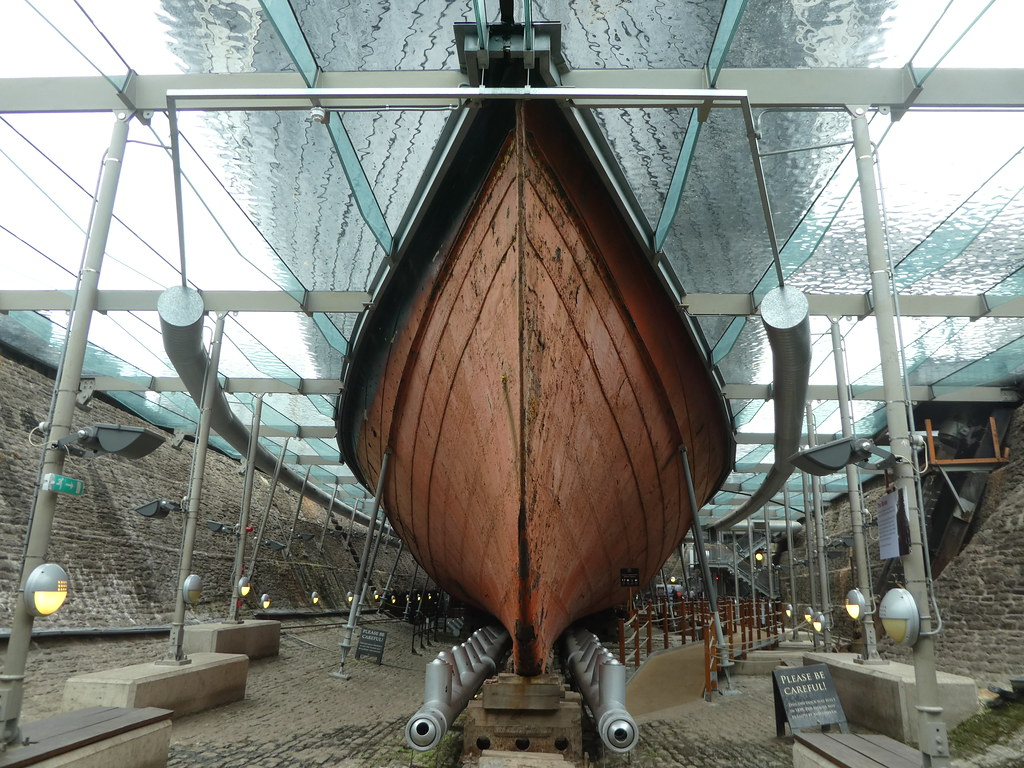 The hull of SS Great Britain