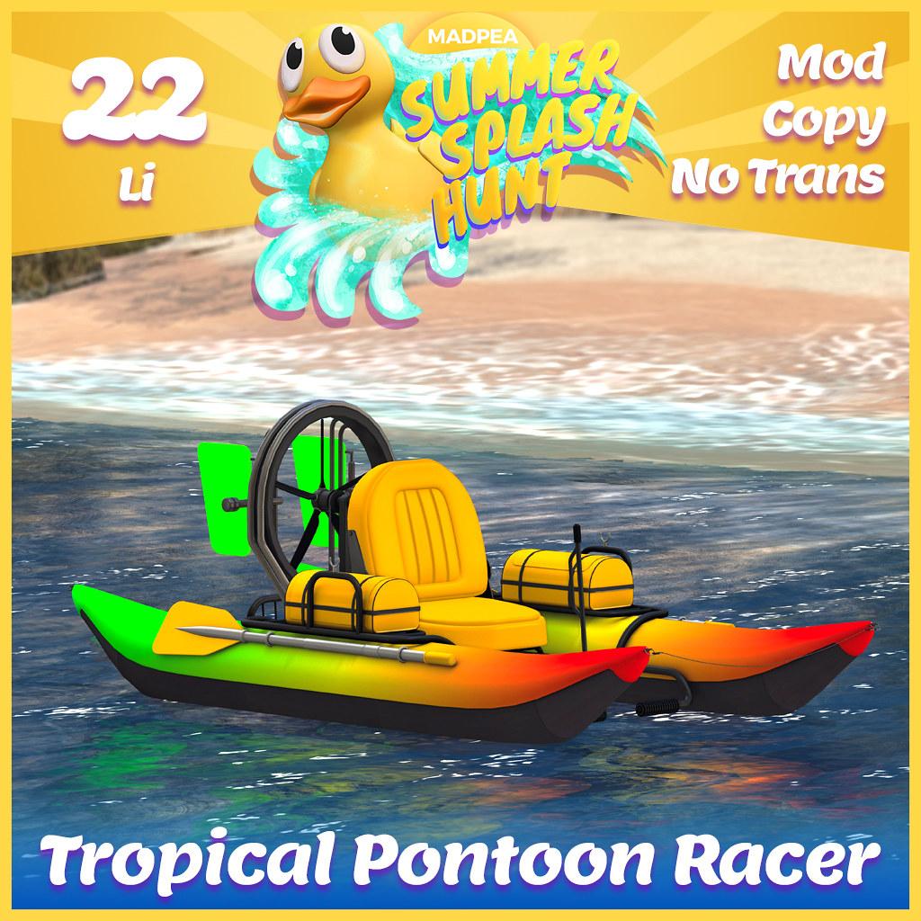 Summer Hunt Prize Reveal: Tropical Pontoon Racer
