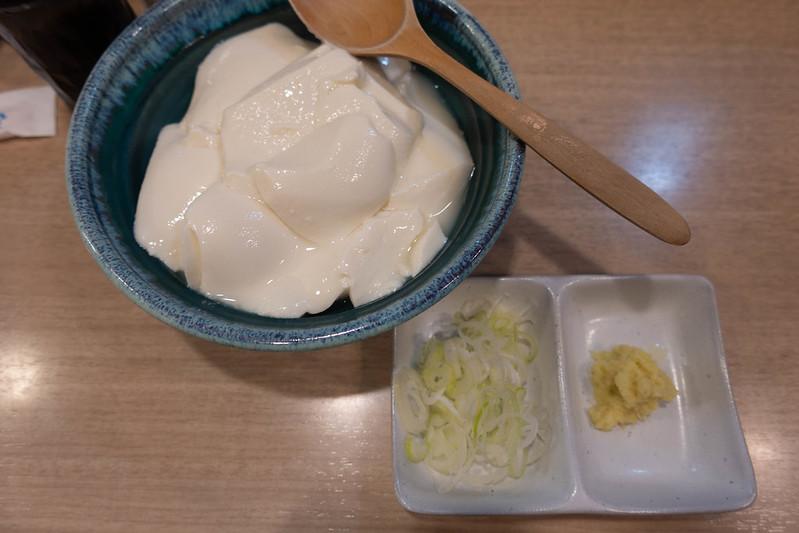 ももどり駅前食堂の豆腐