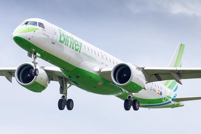 LIL - Embraer 195-E2 (EC-NHA) Binter Canarias