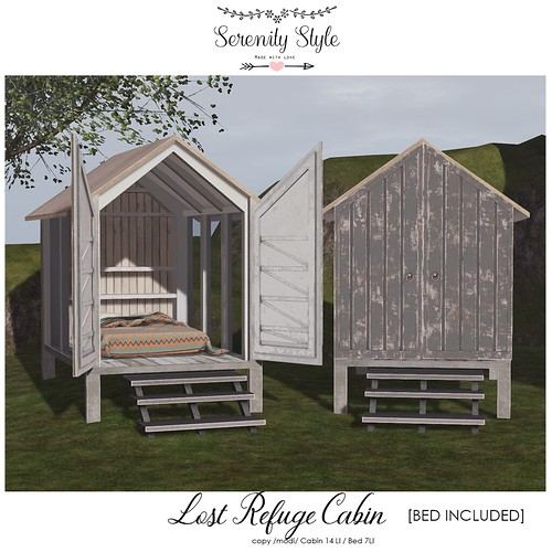 Serenity Style- Lost Refuge Cabin