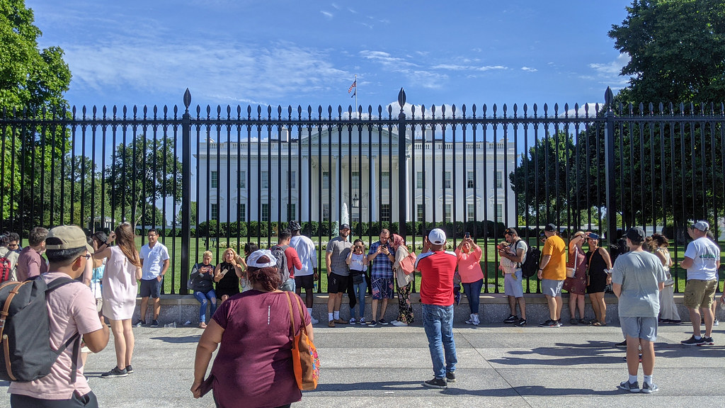 New Fence at the White House