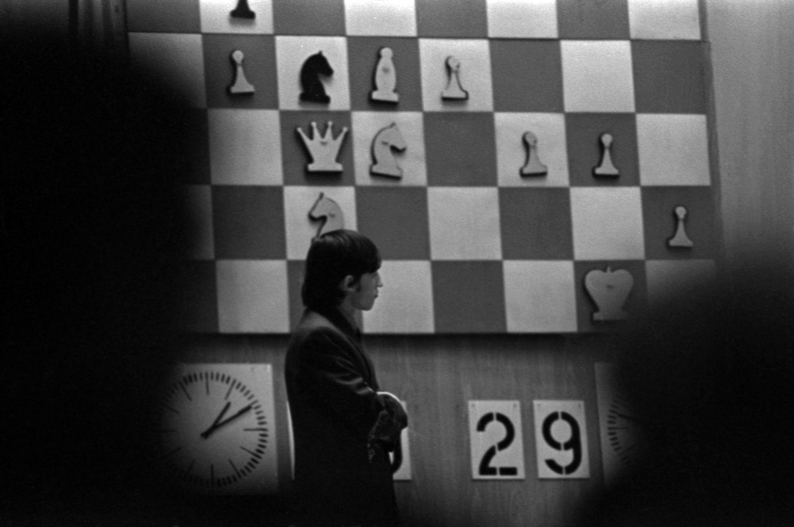 1974. Шахматный матч между Виктором Корчным и Анатолием Карповым в Колонном зале Дома Союзов