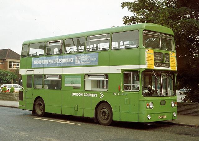 MPJ219L London Country AN119 Enfield (#538)