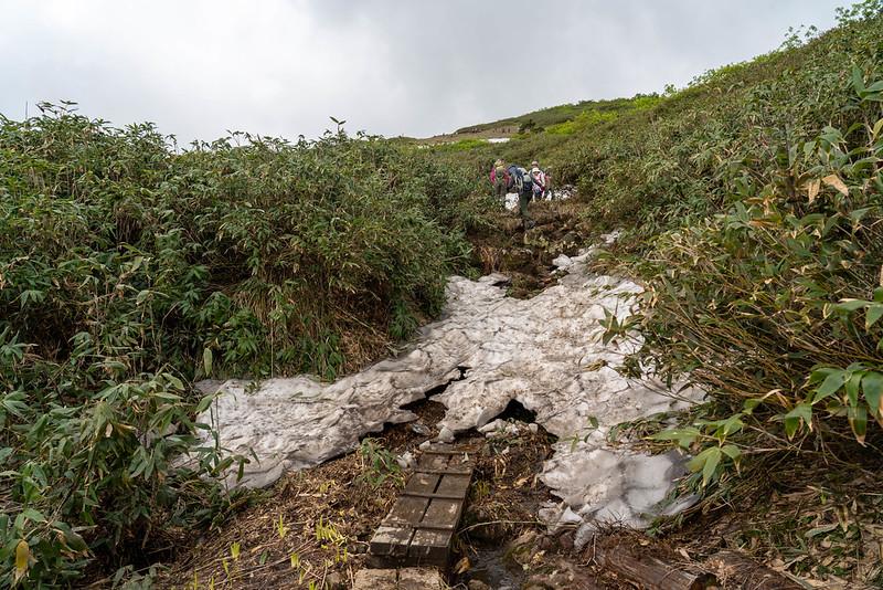 森吉山の登り