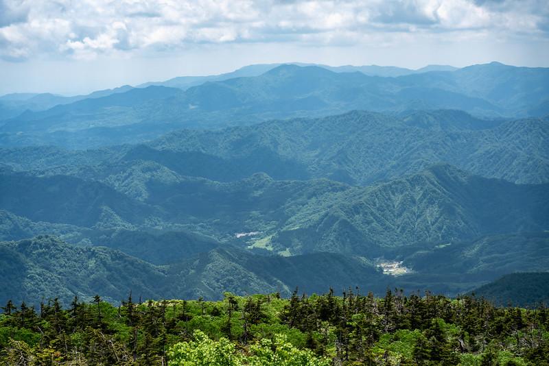 森吉山からの眺め