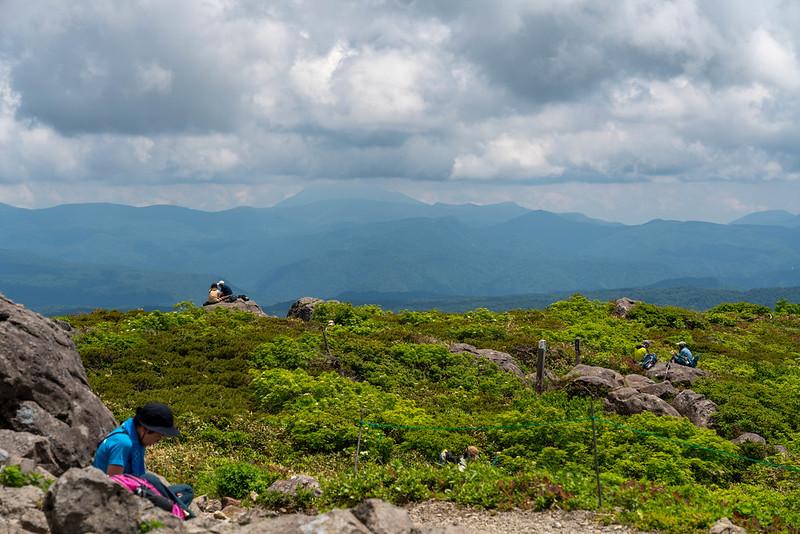 森吉山の展望
