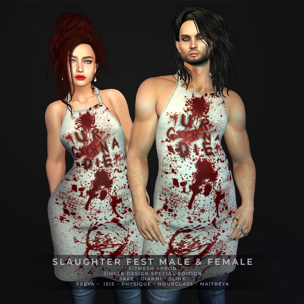 ZFG SLAUGHTER FEST MALE  AND FEMALE