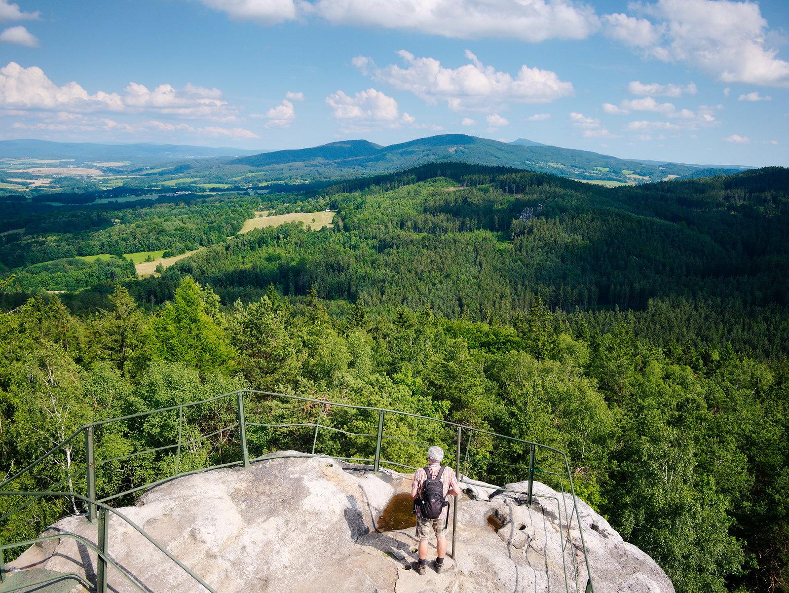 Lužické hory Zittauer Gebirge