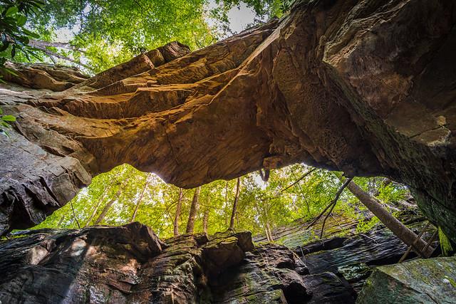 Split Bow Arch in Big South Fork NRRA
