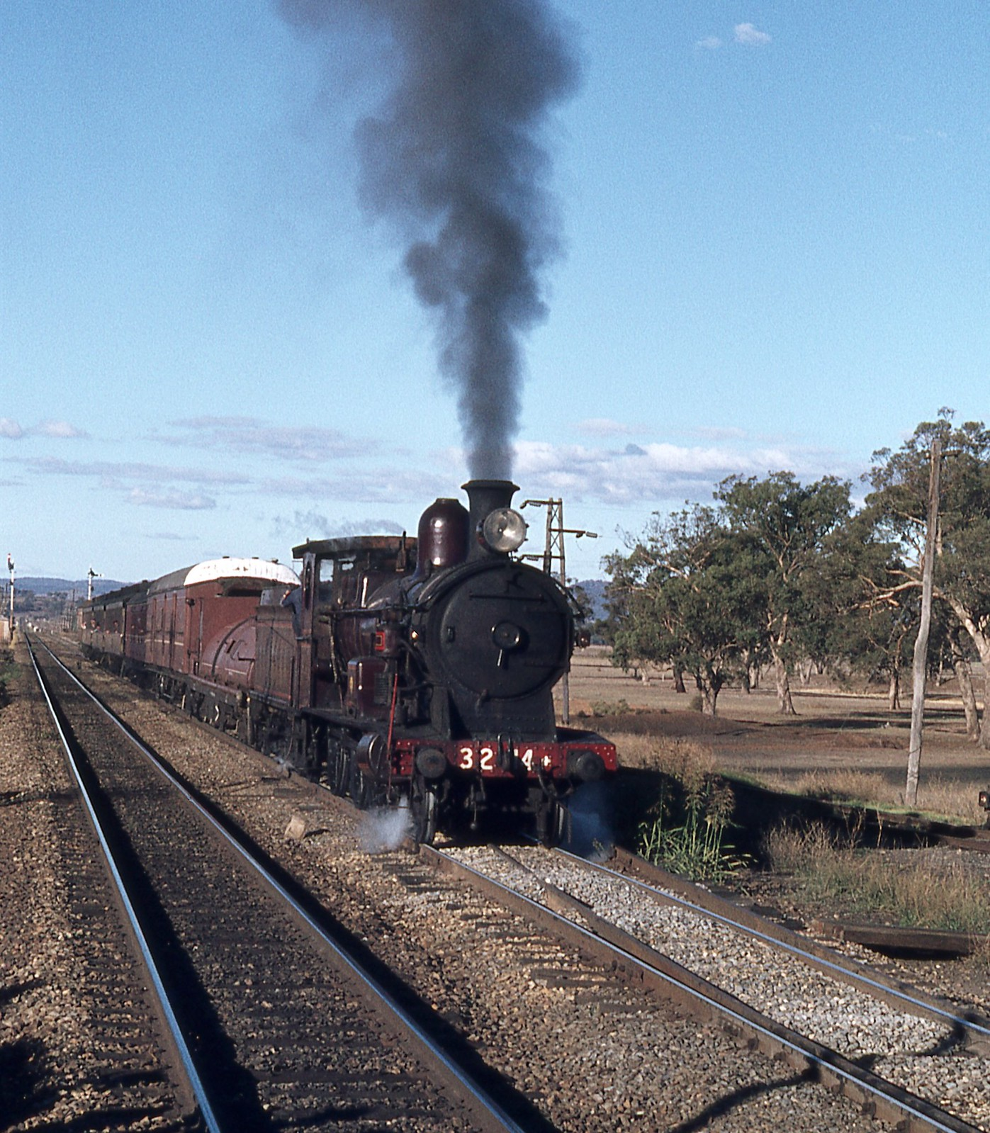 3214 on Tour Train, NSW by dunedoo