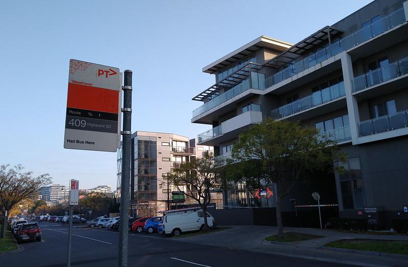 Apartment blocks at Edgewater