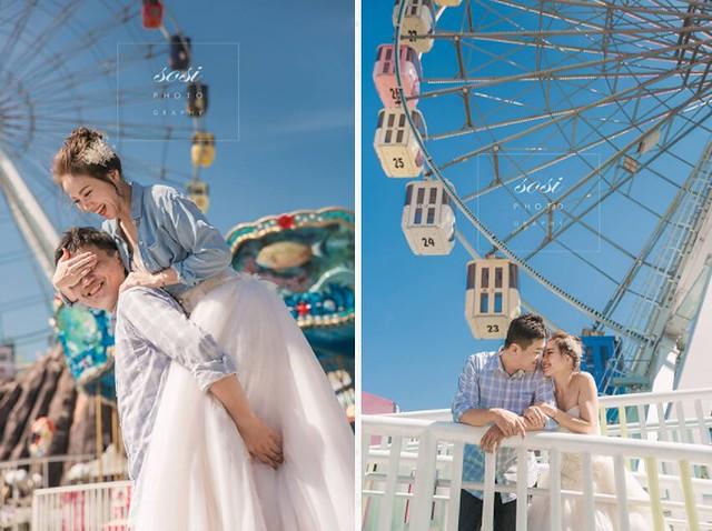 遊樂園求婚