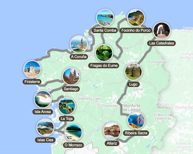 Mejor ruta por Galicia en 15 días