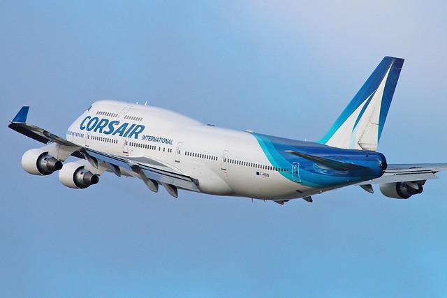 F-HSUN   Boeing 747-422   Corsair International   Paris Orly [ORY/LFPO]