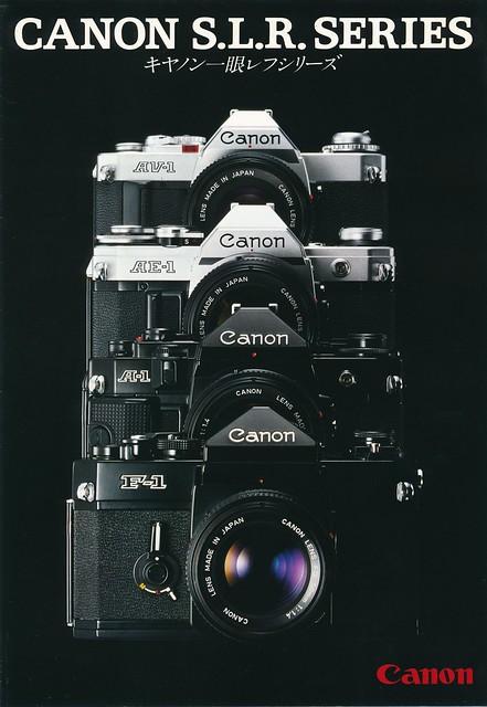Canon S.L.R. Sales Brochure - 1979