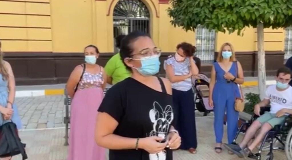Manifestación en la Plaza Corredera: Muerte Samuel