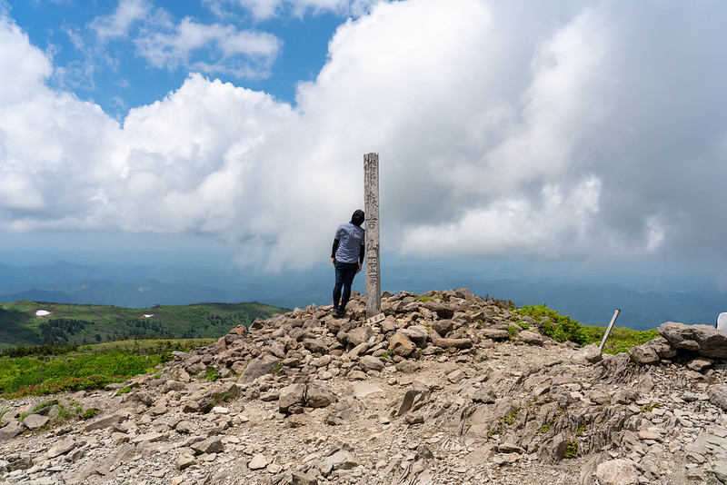 森吉山の山頂