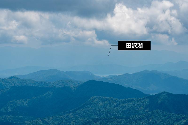 森吉山からの田沢湖