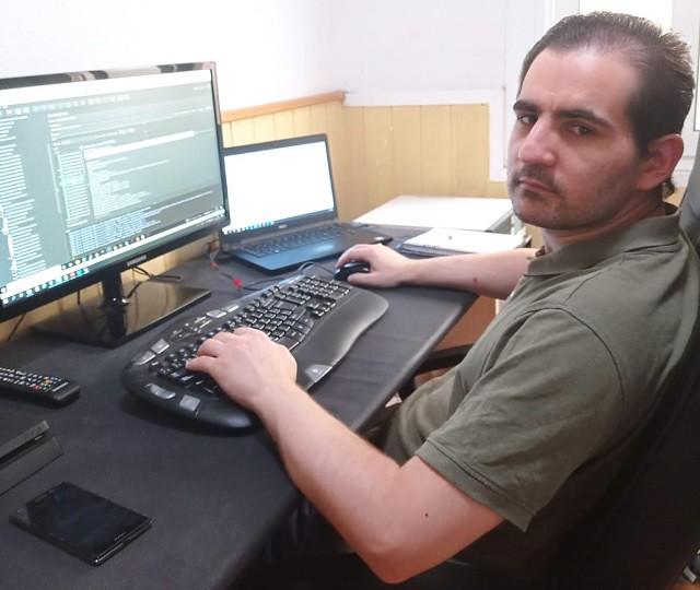 Carlos Bonilla, ingeniero informático