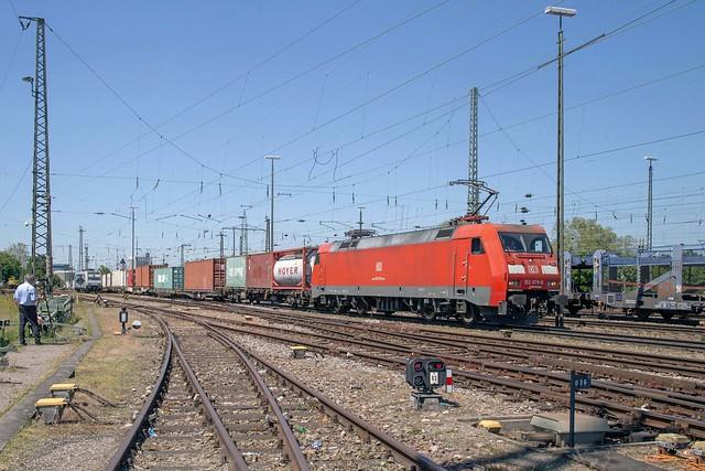 DB Cargo 152 079 Basel Badischer Bahnhof
