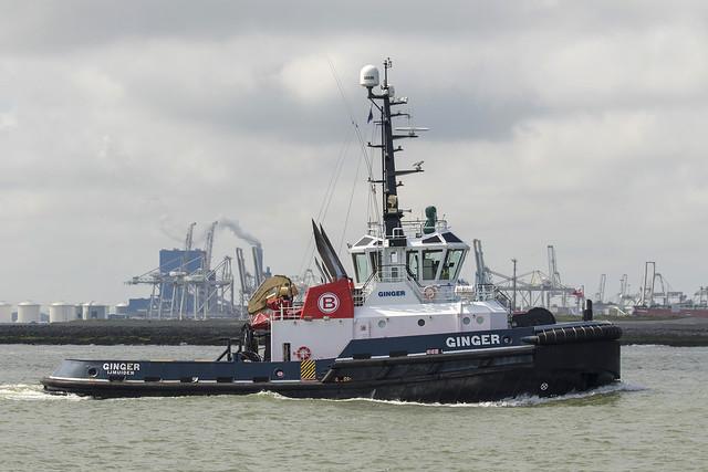 GINGER 🇳🇱 Tug - Nieuwe Waterweg - Hoek van Holland