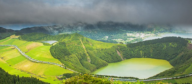the amazing craters of Sete Cidades