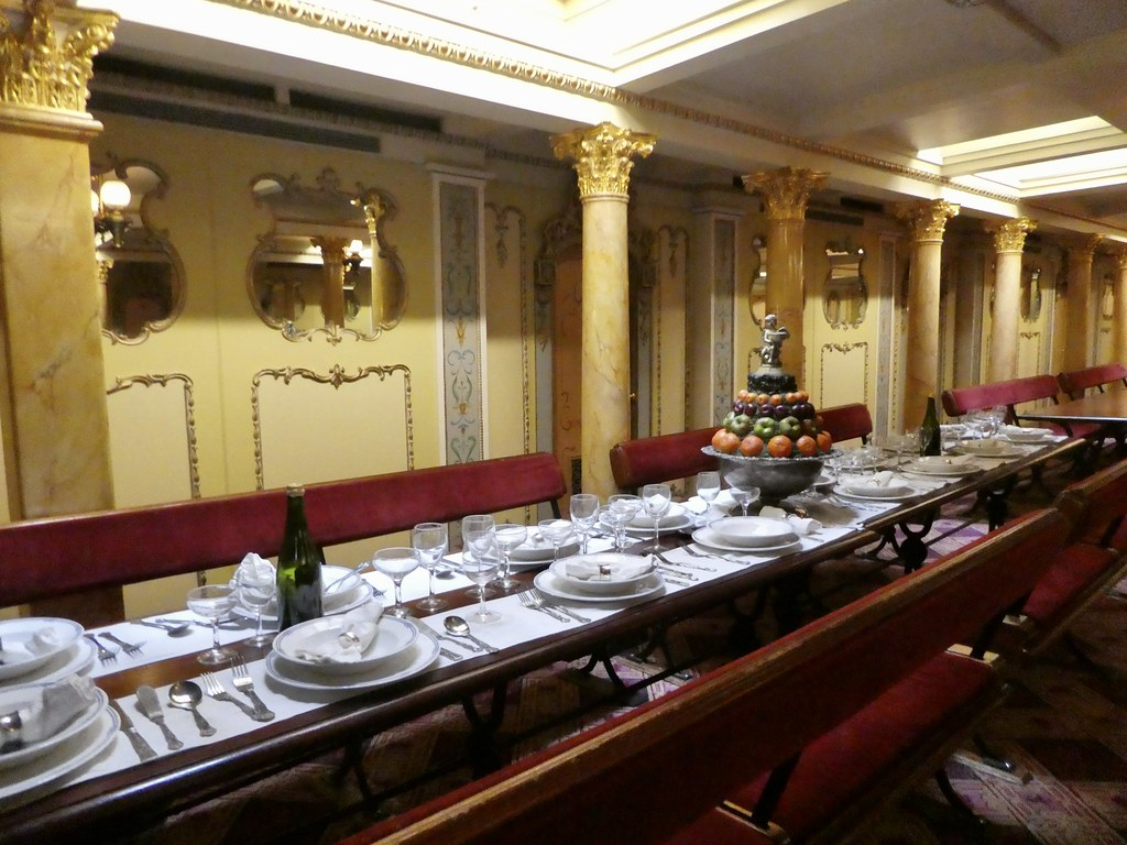 First Class Dining on board SS Great Britain