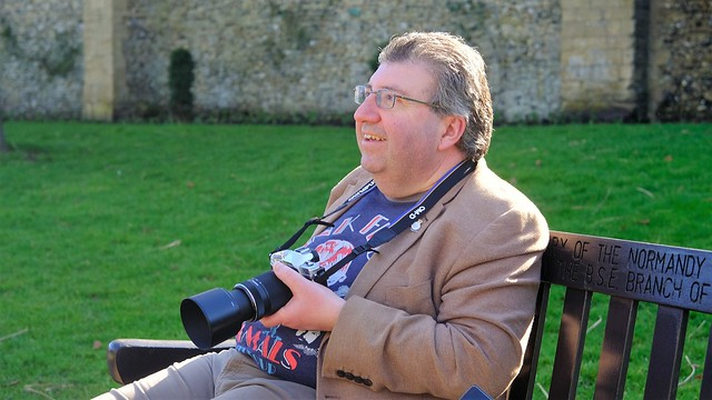 This is Ray- Suffolk Stranger Portrait No 92