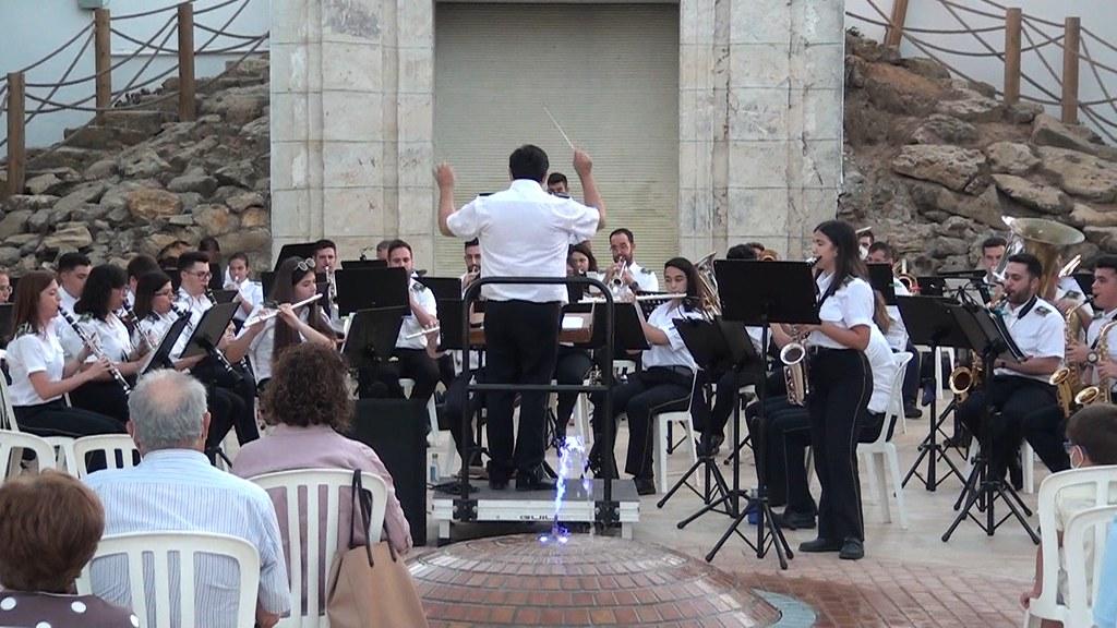 Concierto de verano Banda Música Municipal de 2021