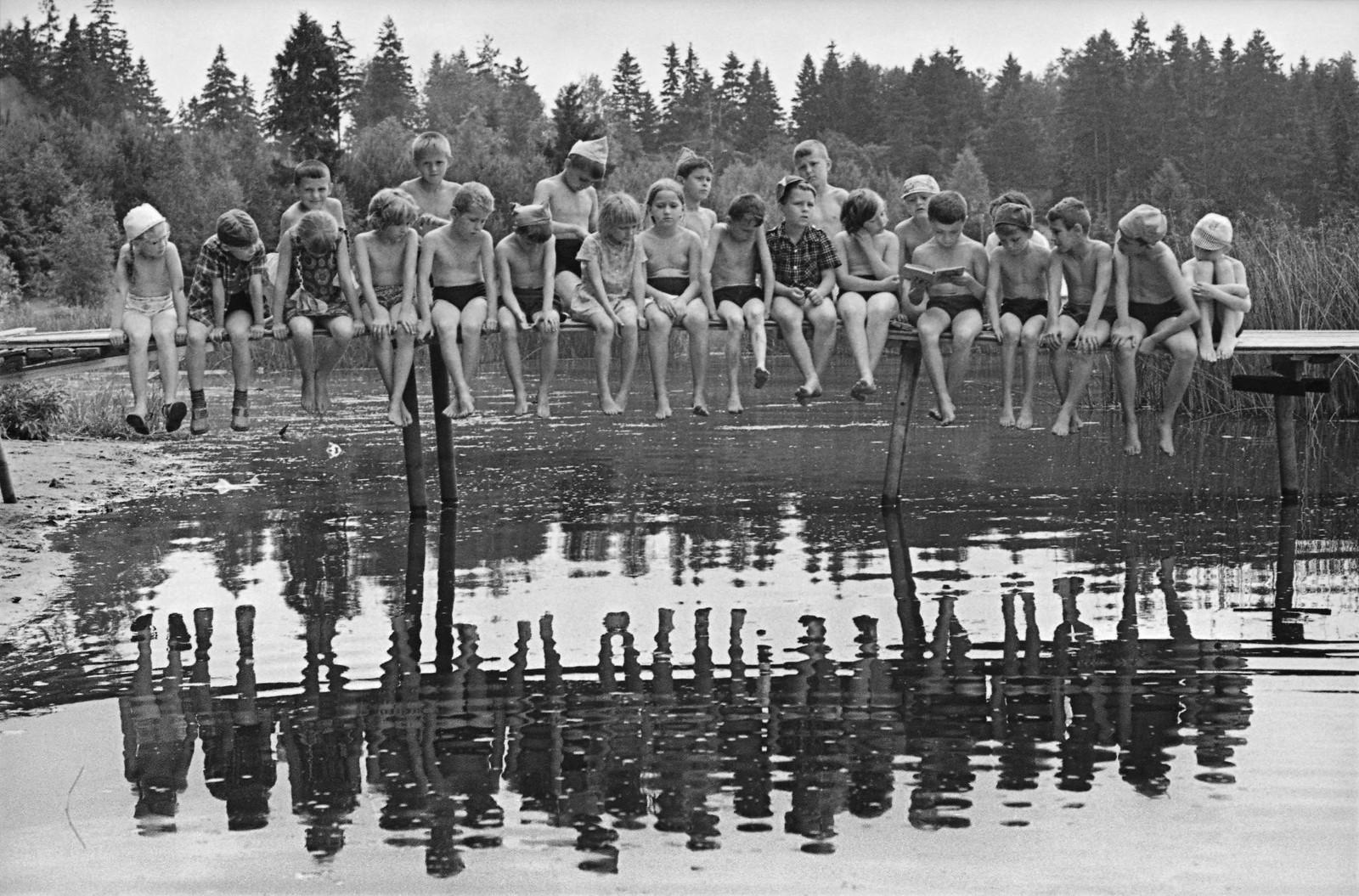 1975. Пионерский лагерь