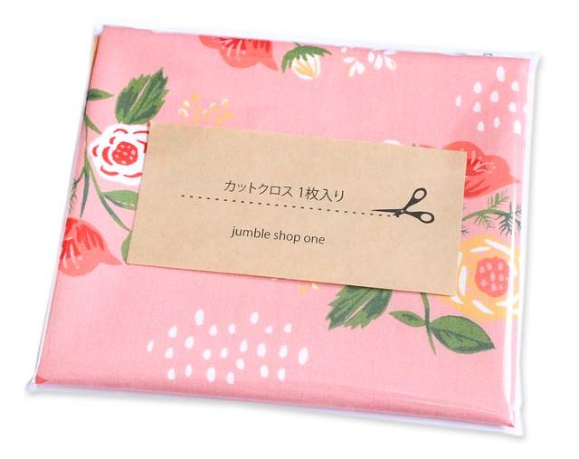 カットクロス Monaluna Vintage 74 V74-03 Bouquet on Pink