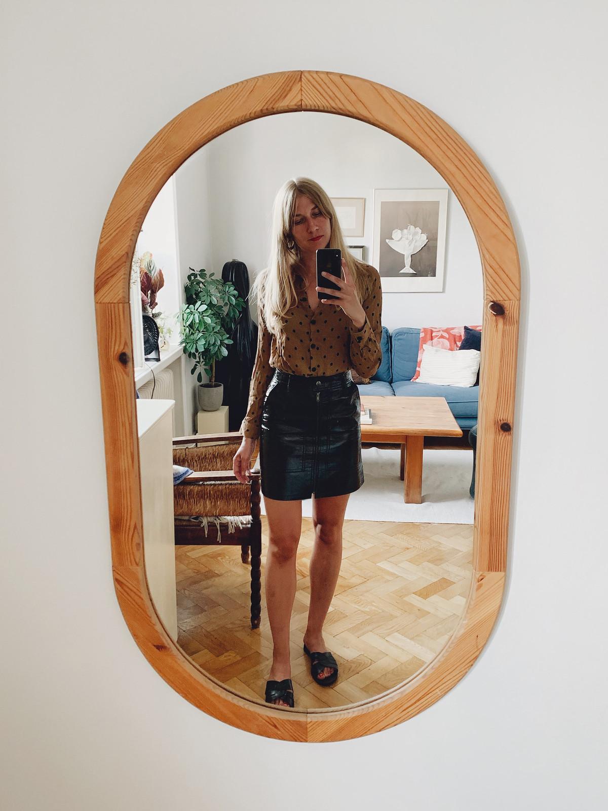 prickig skjorta + kjol