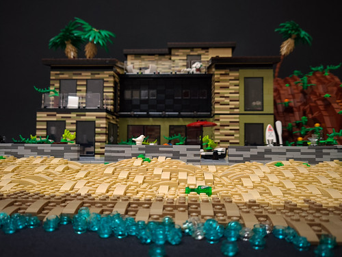 Olive Hill House MOC. Viewed from water surface.