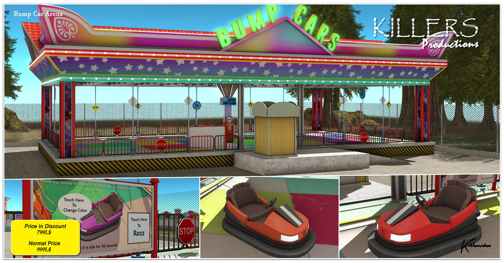 """""""Killer's"""" Bump Cars Arena On Discount @ Access Event Starts from 12th July"""