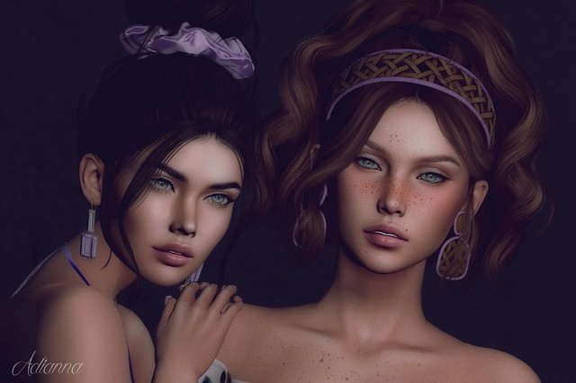 Glamor Girls ~ Being all purdy and stuff