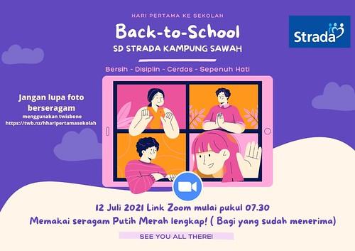 Masa Pengenalan Lingkungan Sekolah SD Strada Kampung Sawah