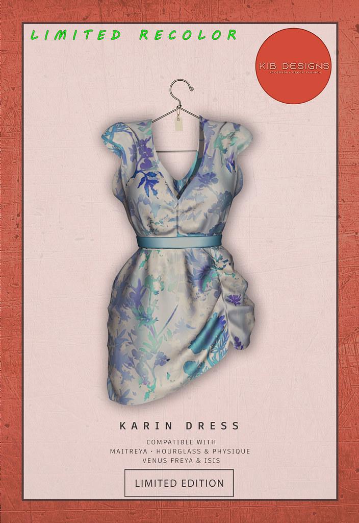 KiB Designs – Karin Dress @HAPPY 99 Event 14th July