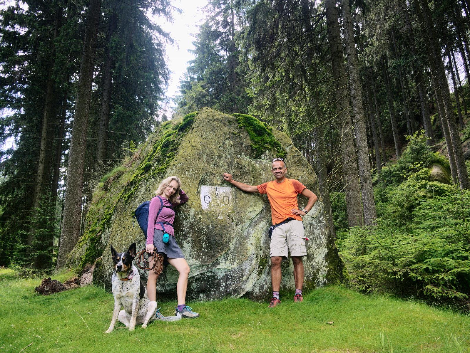 Lužické hory Zittauer Gebirge psem
