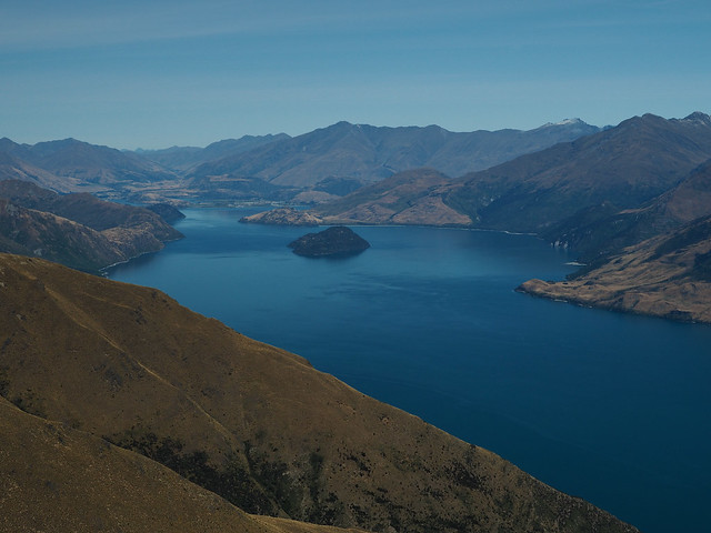 Wānaka Lake from Isthmus Peak Hike