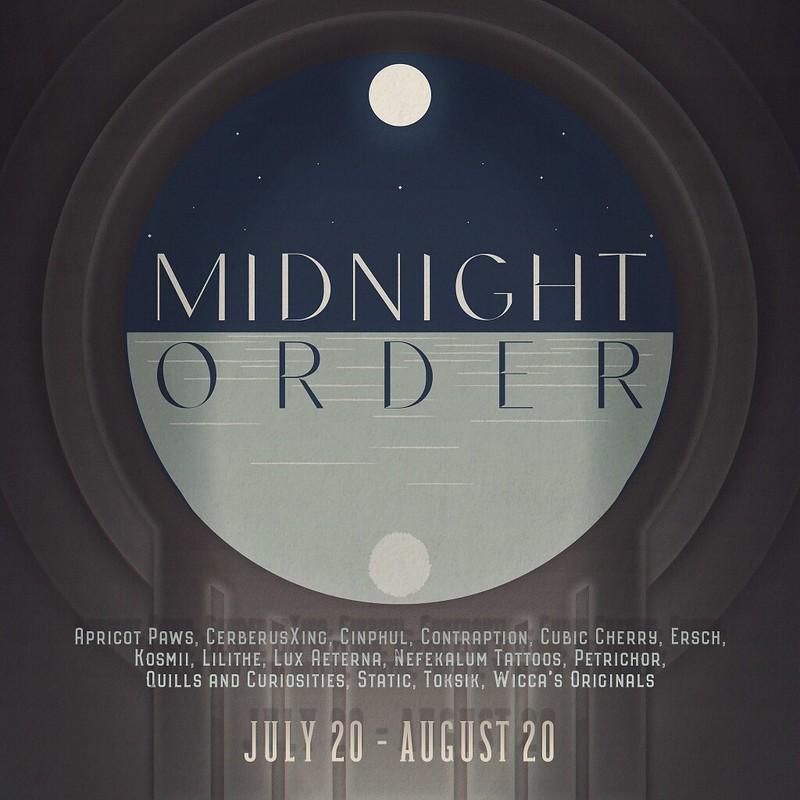 Midnight Order - July 2021 - Sponsor Poster