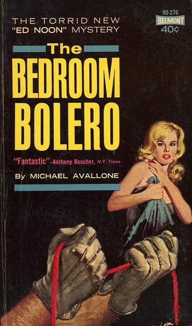Belmont Books 90-276 - Michael Avallone - The Bedroom Bolero