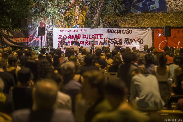 """Presentazione di """"Nessun Rimorso. Genova 2001-2021"""""""
